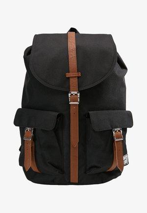 DAWSON - Rucksack - black/tan