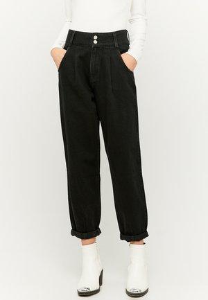 HIGH WAIST SLOUCHY - Jeans baggy - black