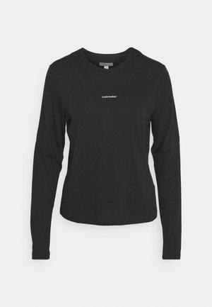 METEROA - Long sleeved top - black