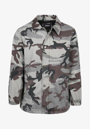 CAMO COACH - Summer jacket - grey