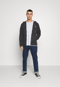 Abercrombie & Fitch - ICON FULLZIP - Jersey con capucha - anthrazit - 1