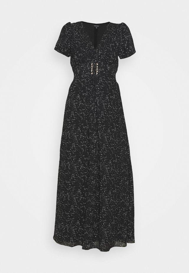 FYLENE DRESS - Maxiklänning - black