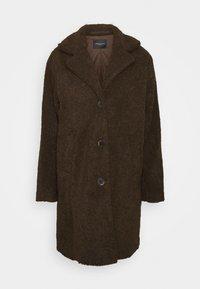 Selected Femme - SLFNANNA TEDDY COAT - Winter coat - coffee bean - 4