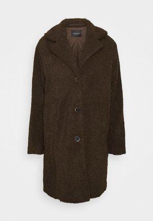 SLFNANNA TEDDY COAT - Winter coat - coffee bean
