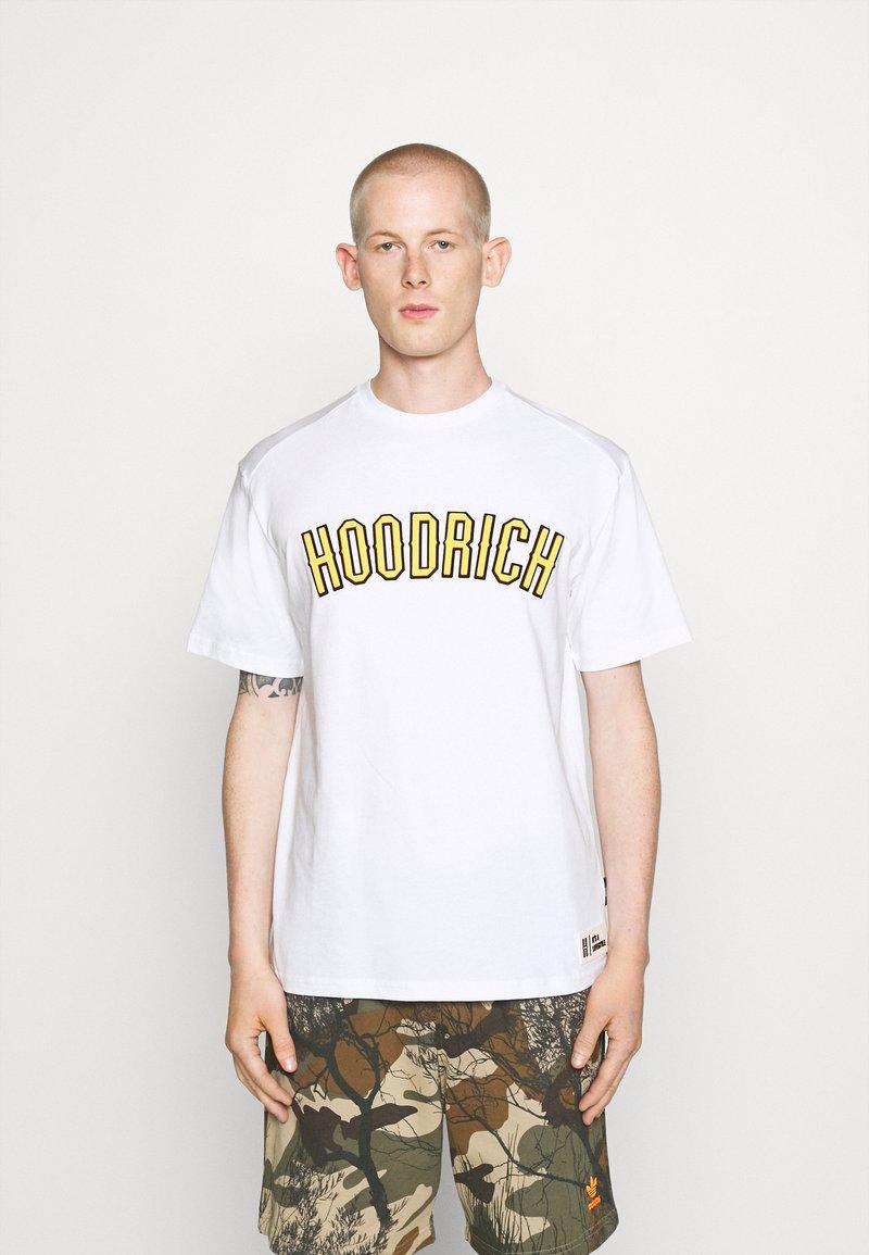 Hoodrich - DRIP - Print T-shirt - white/yellow