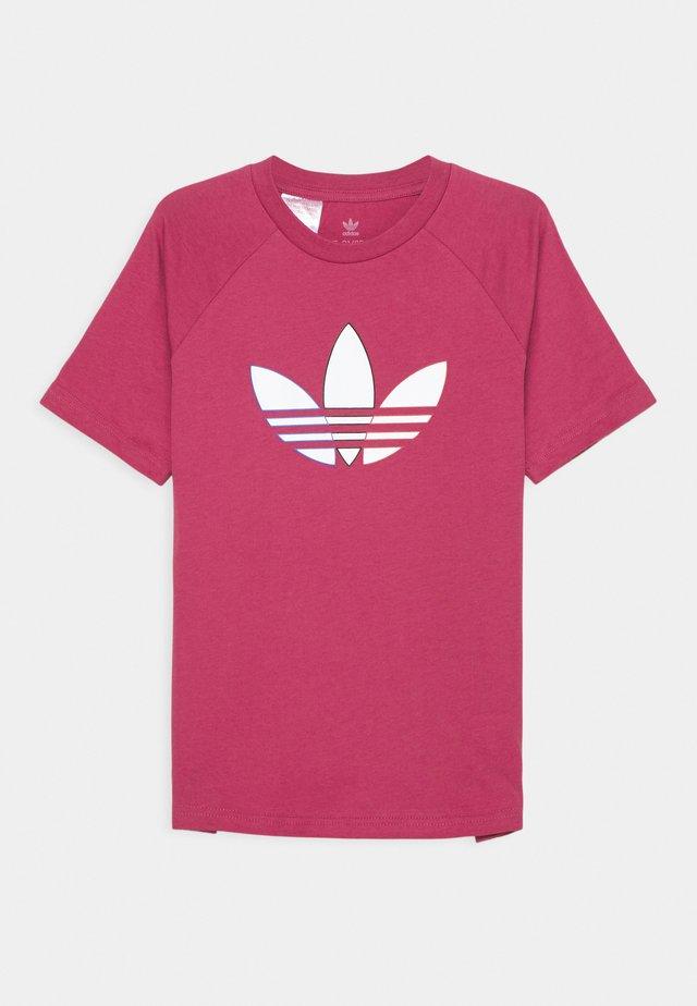 TEE UNISEX - Print T-shirt - wild pink