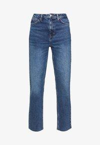 Topshop Tall - CLEAN - Straight leg jeans - blue denim - 3