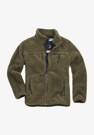 Fleece jacket - olive