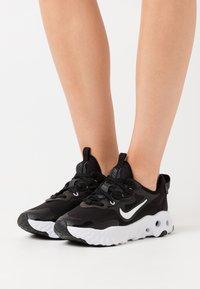 Nike Sportswear - REACT ART3MIS - Sneakers - black/white - 0
