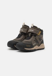 Geox - TERAM BOY ABX - Zimní obuv - military/dark yellow - 1
