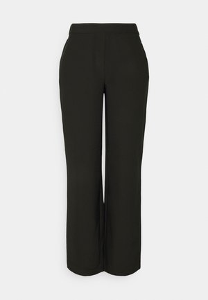LORA PANTS - Trousers - black
