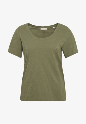 SHORT SLEEVE ROUND NECK - T-shirt basique - seaweed green