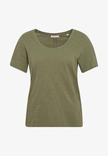 SHORT SLEEVE ROUND NECK - T-shirts - seaweed green