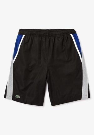 GH4764 - Short de sport - noir / blanc / bleu