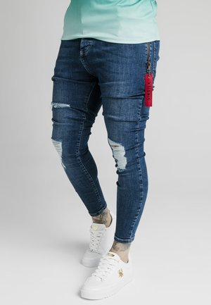 DISTRESSED FLIGHT - Jeans Skinny Fit - light blue