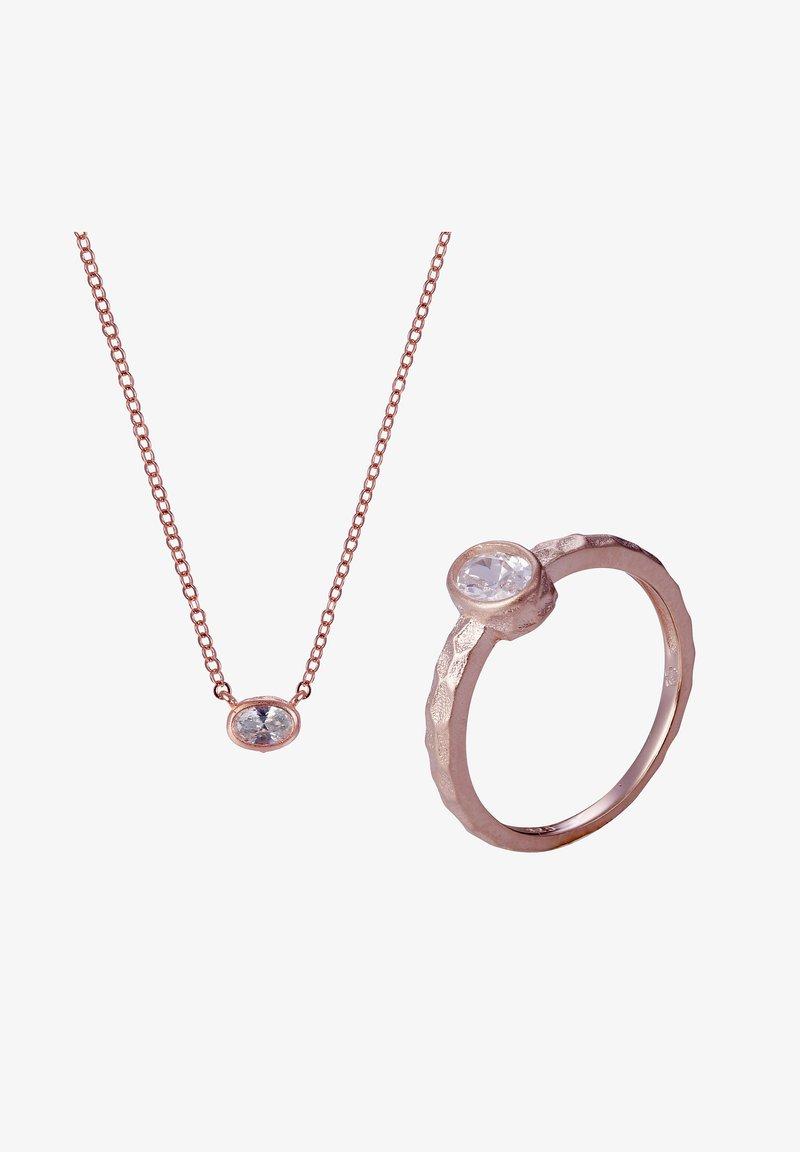 Orphelia - ROSELLE - Necklace - rose