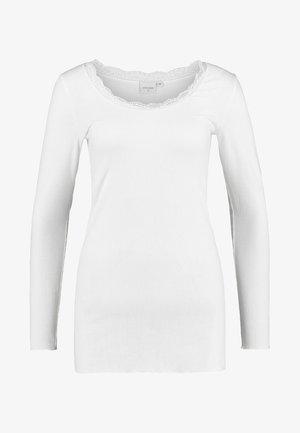 VANESSA - Camiseta de manga larga - chalk