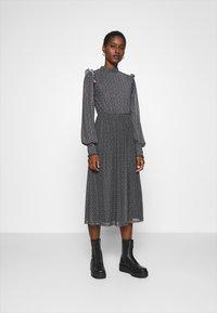 Zign - Day dress - black/white - 0