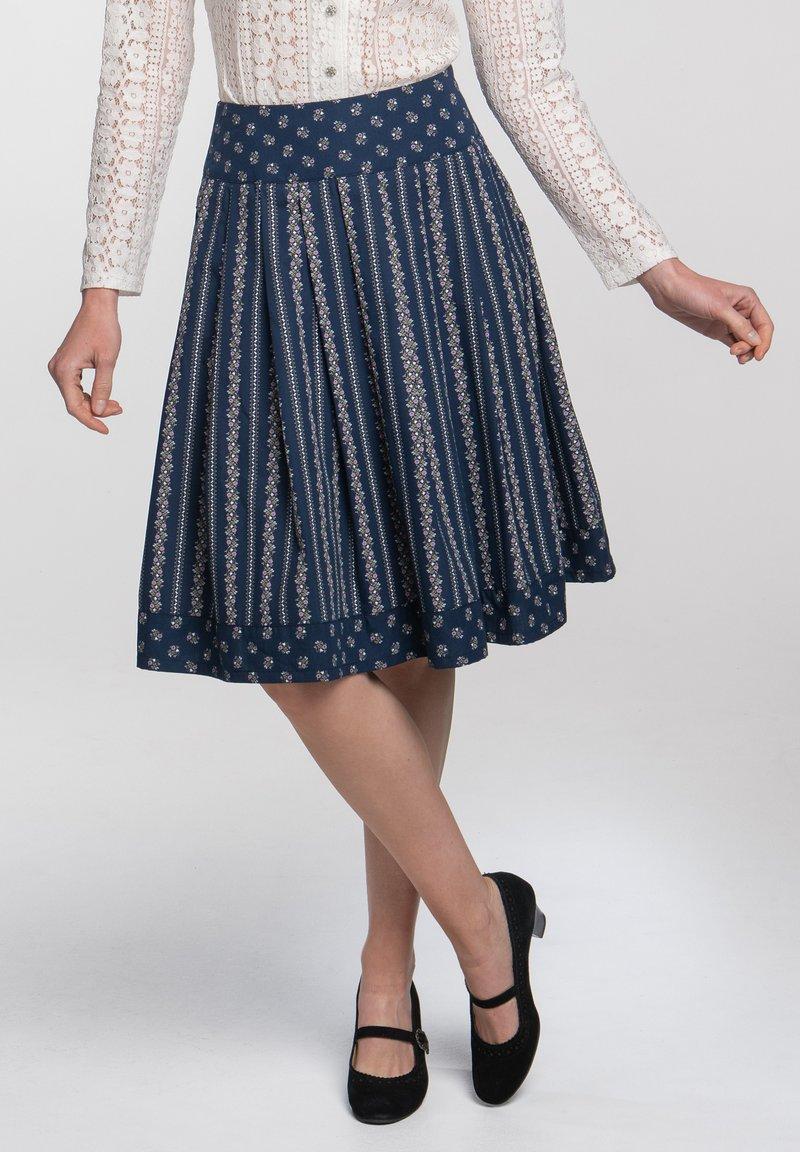 Spieth & Wensky - SCHATZ - A-line skirt - blau