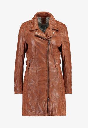 SELMA - Krátký kabát - cognac
