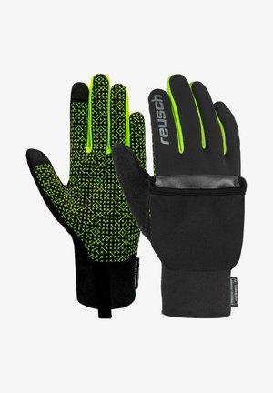 TERRO STORMBLOXX™ TOUCHSCREEN-KOMPATIBEL - Gloves - black/safety yellow