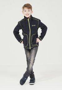 ZIGZAG - TAEBAEK KIDS ACTIV - Fleece jacket - 2048 navy blazer - 1