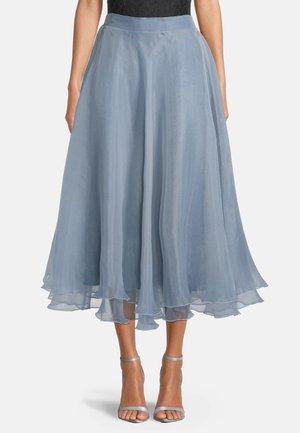 A-line skirt - blue dove