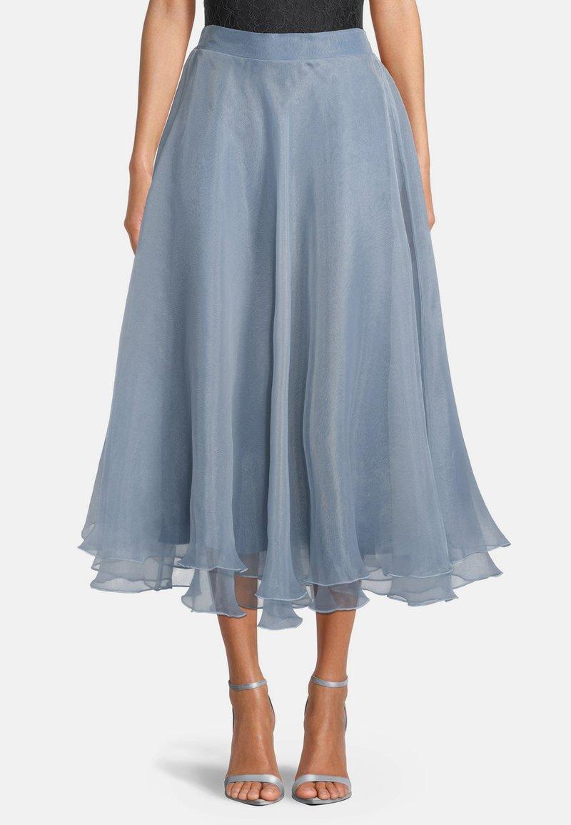Vera Mont - A-line skirt - blue dove