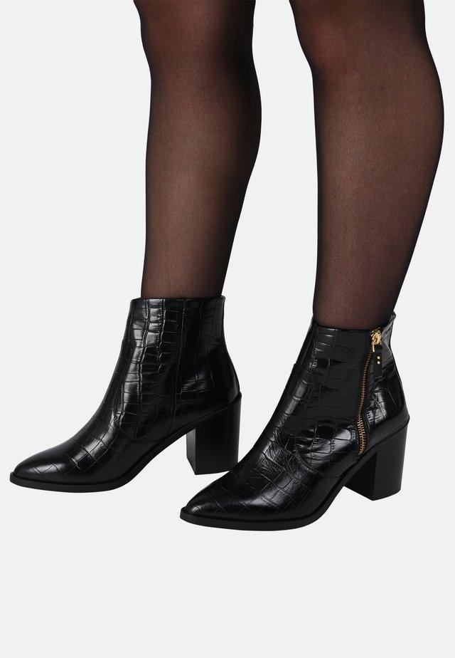 CELESTE - ANKLE BOOTS - Bottines - black