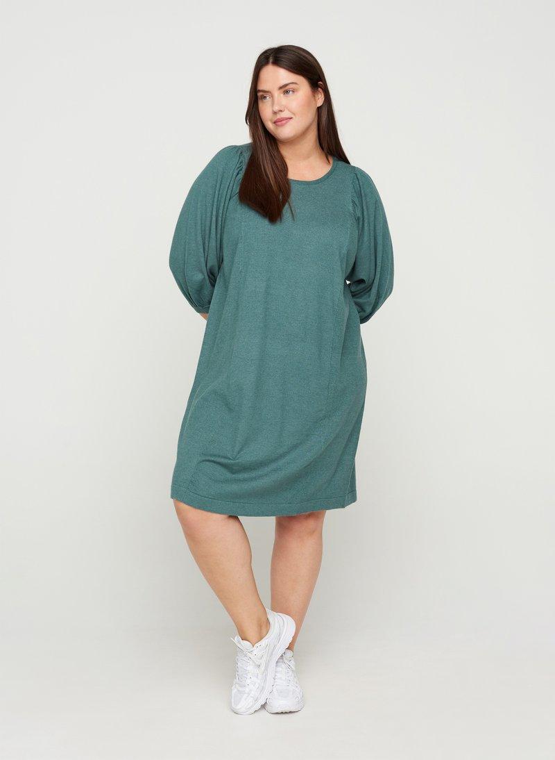 Zizzi - Jumper dress - sea pine mel