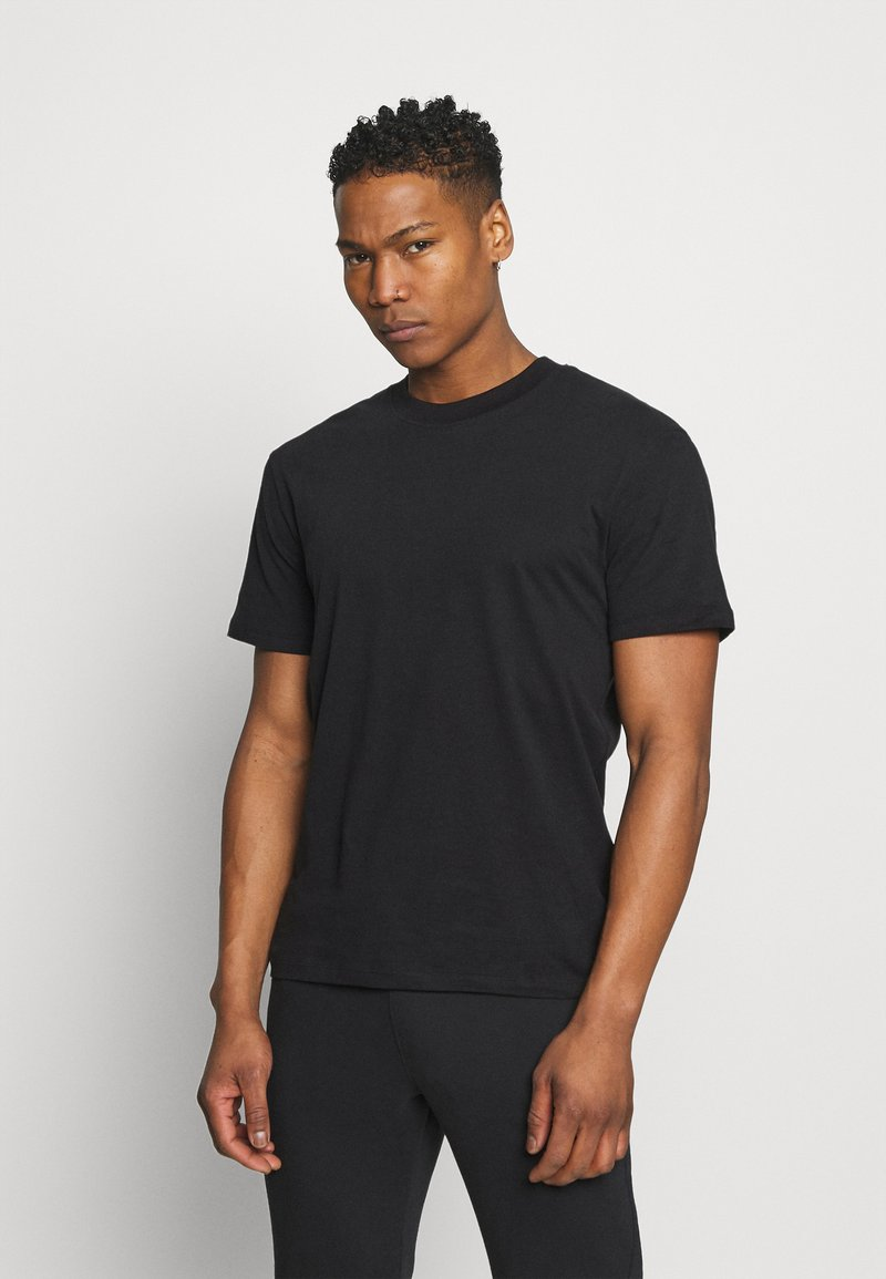 Jack & Jones PREMIUM - JPRBLAPEACH TEE CREW NECK - Basic T-shirt - black