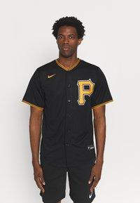 Nike Performance - MLB PITTSBURGH PIRATES OFFICIAL REPLICA ALTERNATE - Club wear - pro black - 0