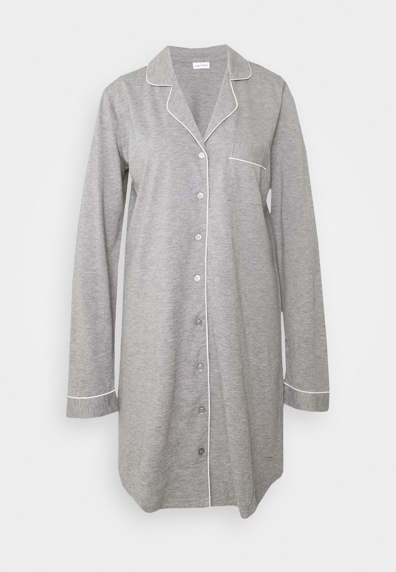 LASCANA - NIGHTGOWN - Noční košile - grey melange