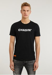 CHASIN' - Print T-shirt - black - 0