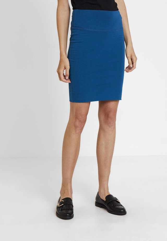 PENNY SKIRT - Pencil skirt - moroccan blue