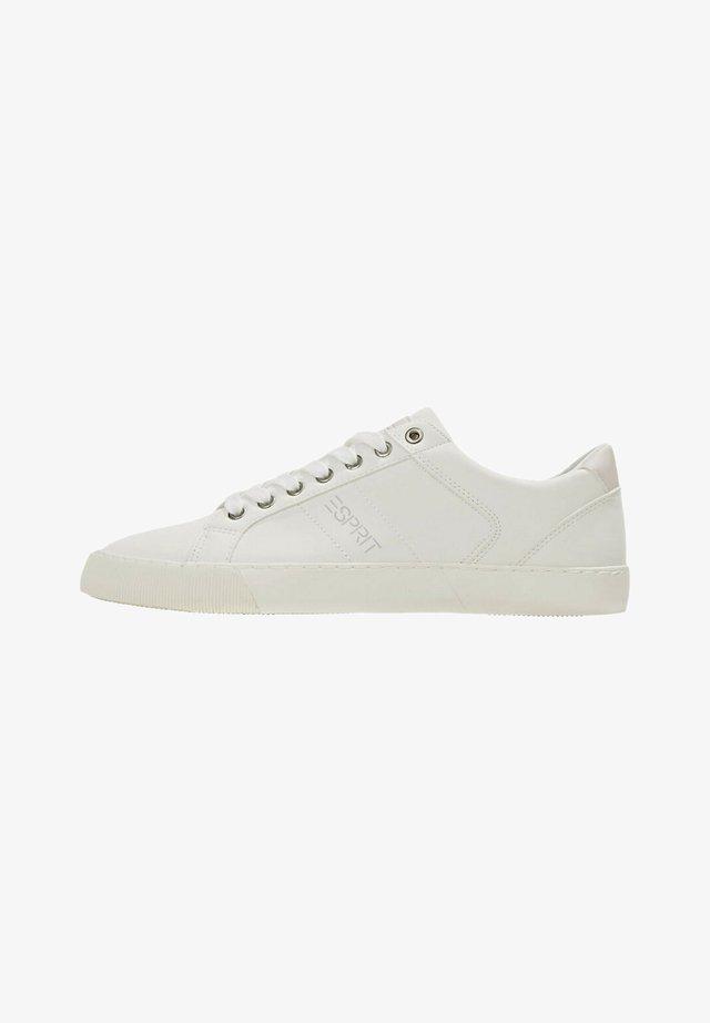 MIT LOGO-PRINT - Sneakers laag - white