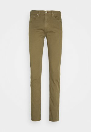 MENS - Slim fit jeans - olive