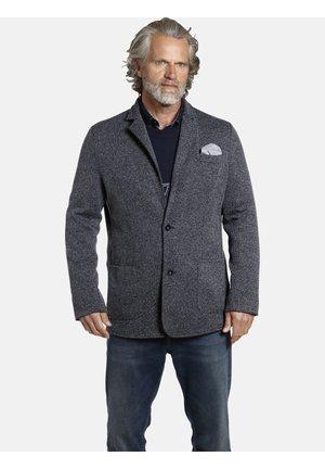 ALBIN - Blazer jacket - dunkelblau melange