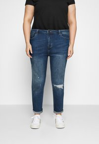 Simply Be - FERN BOYFRIEND - Jeans Tapered Fit - vintage blue - 0