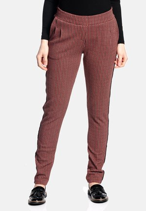 Trousers - rot allover