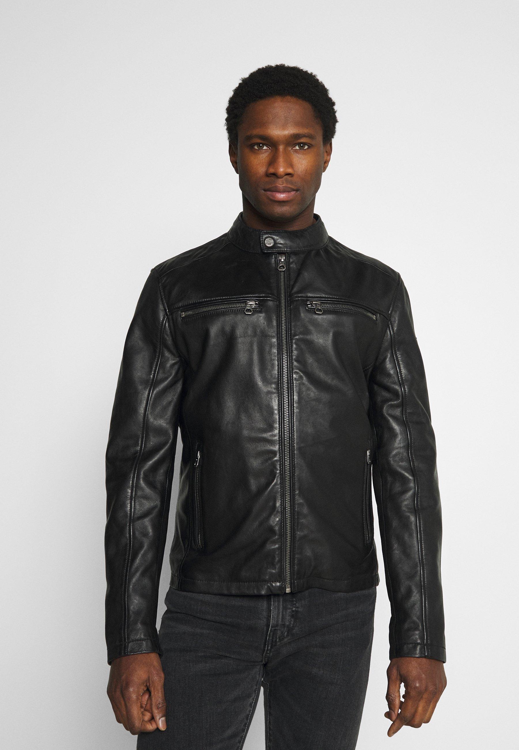 Men JON LANIV - Leather jacket