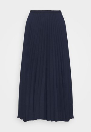 DRAPEY SKIRT - A-line skirt - french navy