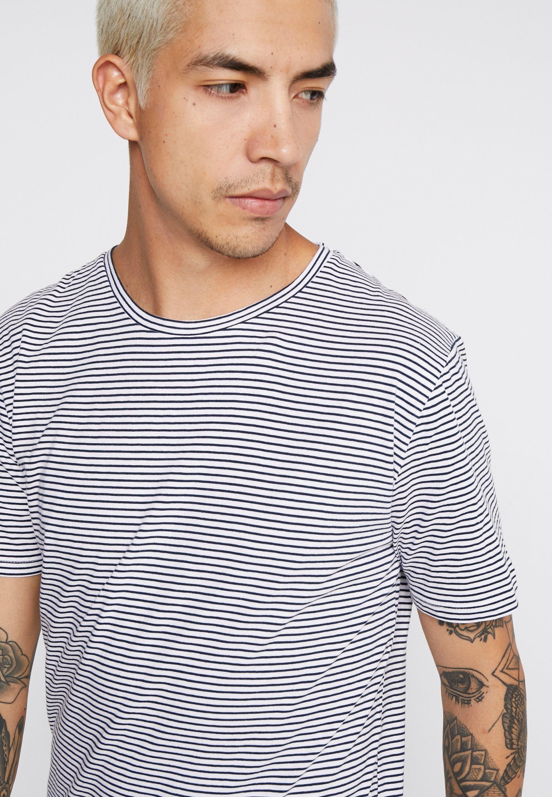 Minimum LUKA - Basic T-shirt - white 5b2P3