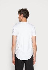 Hollister Co. - 3 PACK - Basic T-shirt - white/ grey /black - 4