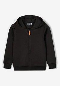 Name it - Zip-up hoodie - black - 4