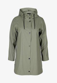 Zizzi - Waterproof jacket - green - 1
