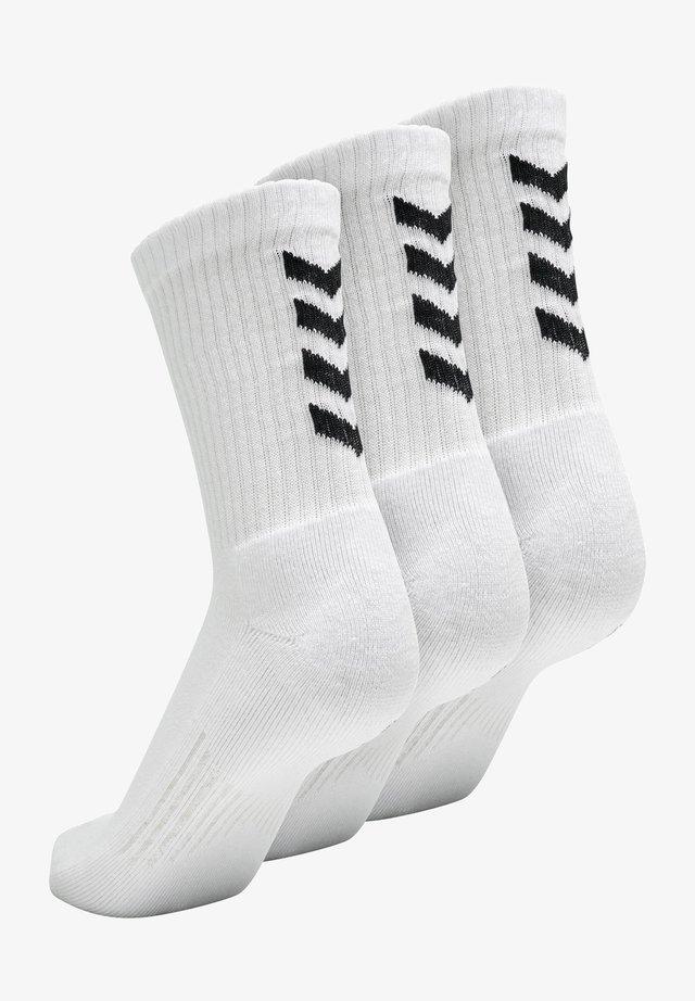 3 PACK - Socks - white