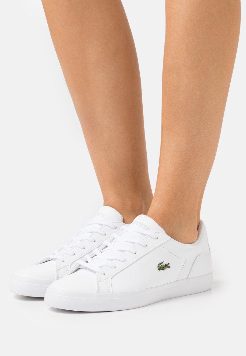 Lacoste - LEROND  - Baskets basses - white