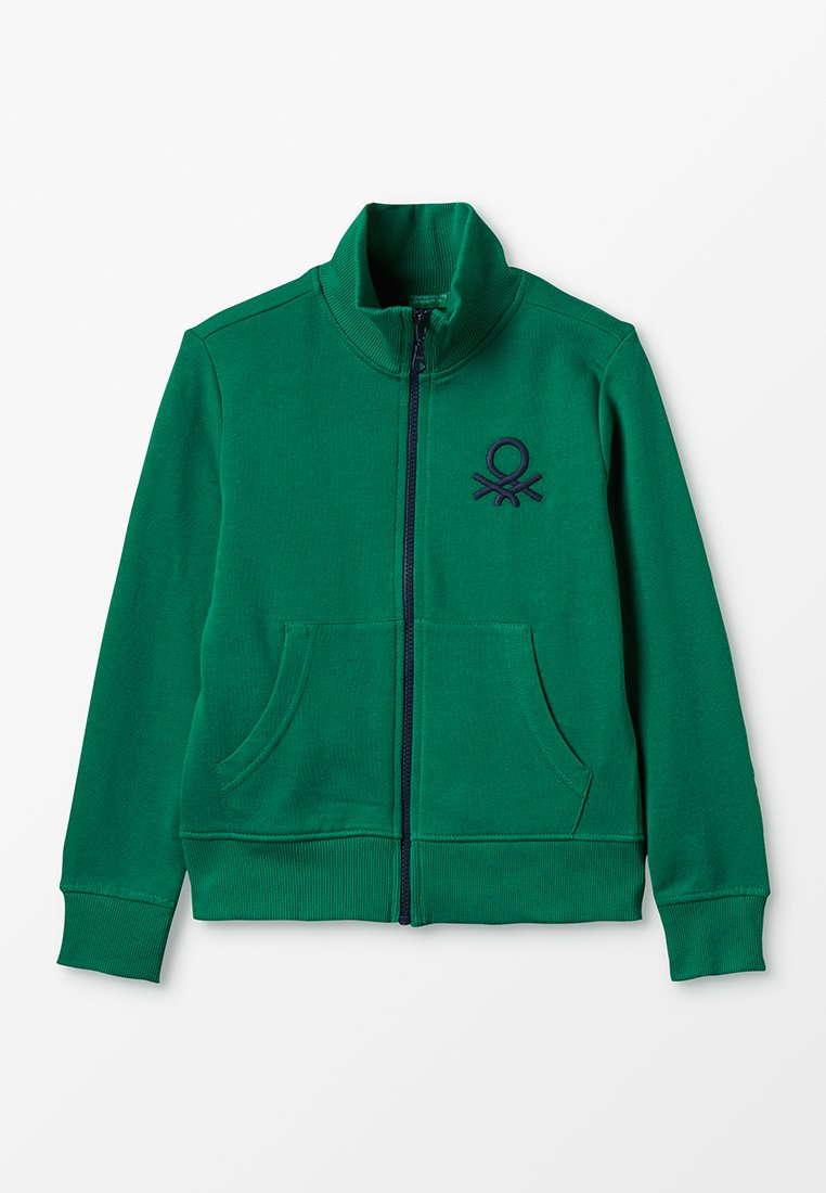 Benetton - Zip-up hoodie - green