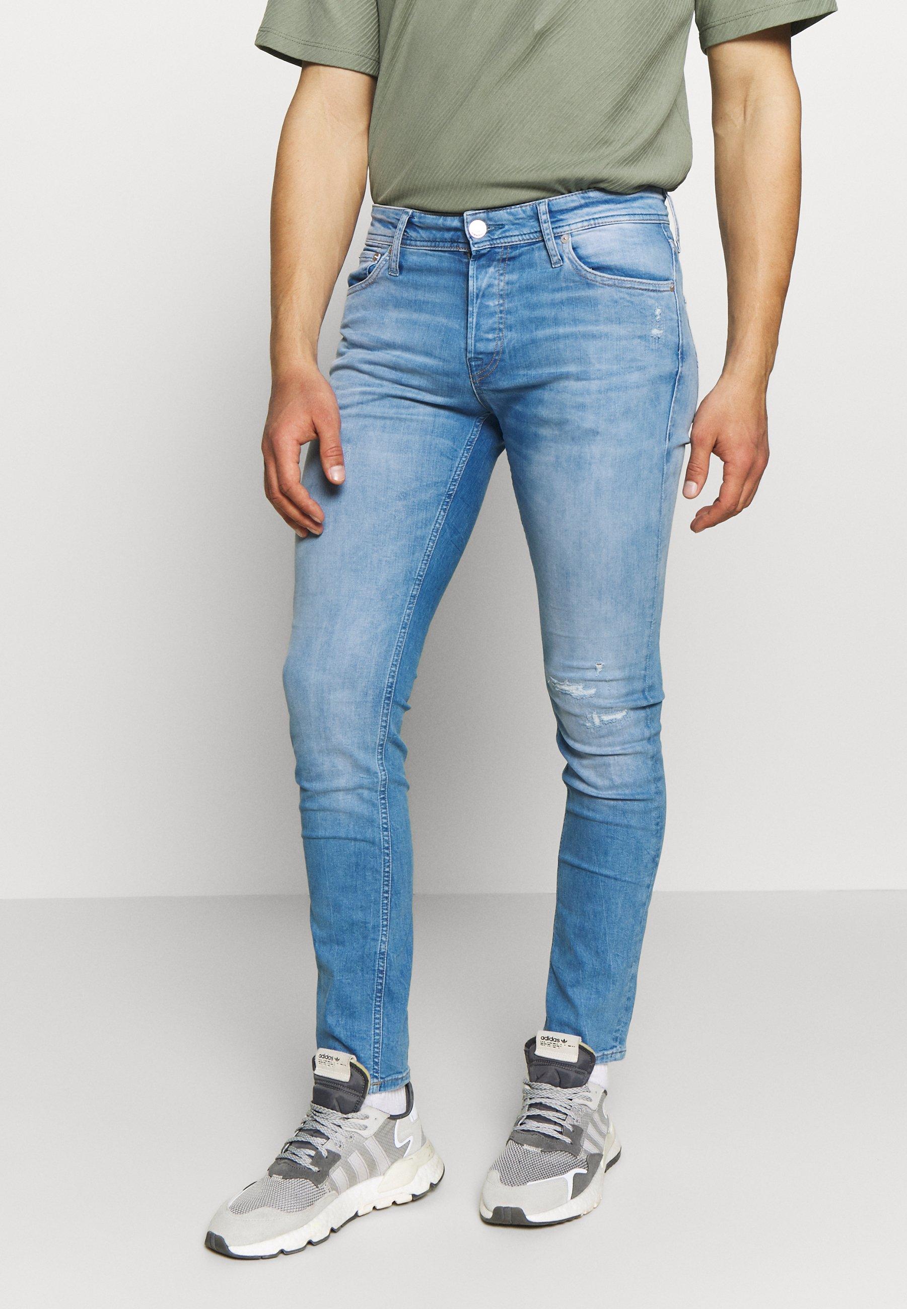 Men JJIGLENN JJORG JOS LID - Slim fit jeans